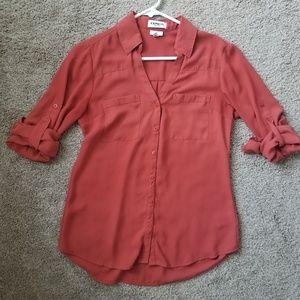 Tops - Express Slim Fit Portofino shirt small